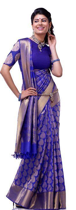 silk saree draping styles loved the draping style saree purplesaree sareedraping