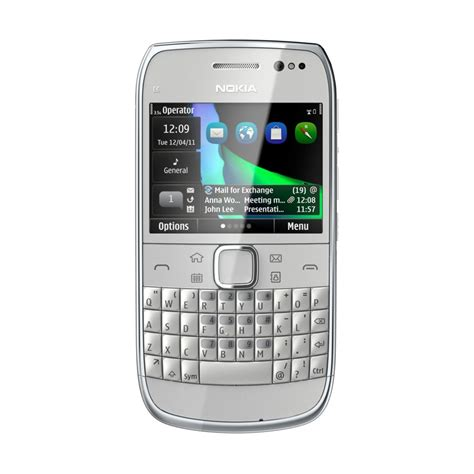 nokia qwerty phones nokia e6 qwerty business phone with 326ppi display