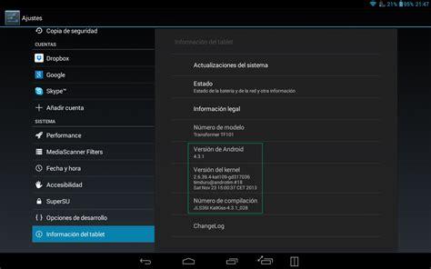 android builds instalar android 4 3 1 katkiss 28 en la asus transformer tf101 y el todo en nuestra vida es