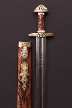 does pattern welding make anglo saxon swords stronger sword pattern welded blade hilt inlay with copper and