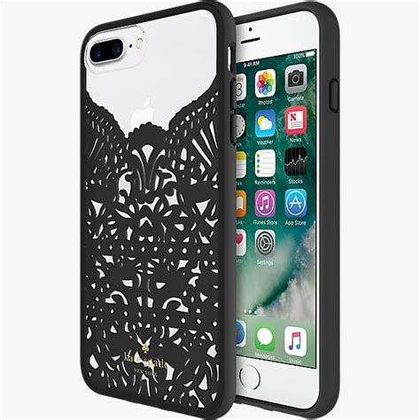 kate spade  york lace cage case  iphone