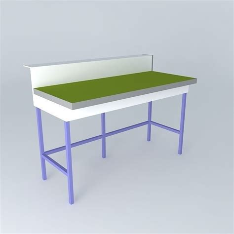 lab bench simple lab bench free 3d model max obj 3ds fbx stl skp