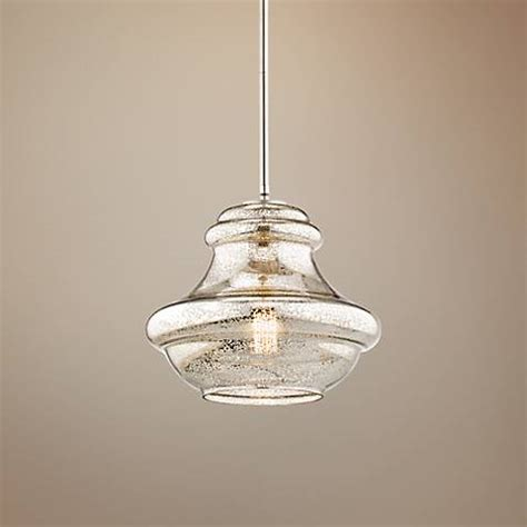 Kichler Lighting Everly Kichler Everly 12 Quot Wide Brushed Nickel Mini Pendant