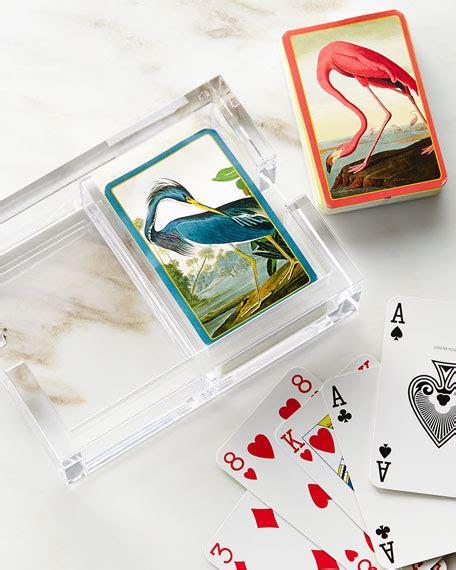 acrylic sts for card caspari audubon cards acrylic holder set