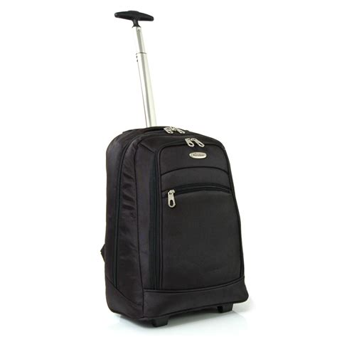 cabin luggage rucksack karabar wheeled cabin laptop trolley suitcase luggage