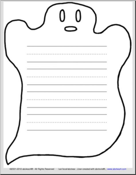 ghost writing paper primary lined paper free new calendar template site