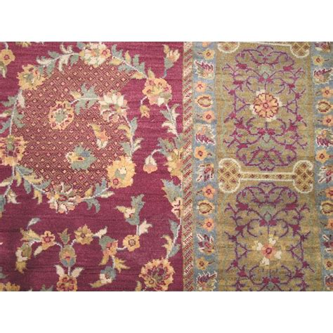 7 x 9 rug size 7 11 quot x 9 11 quot agra wool rug from india
