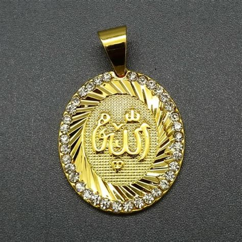 Kalung Liontin Titanium Hati Lapis Emas liontin lafadz allah titanium berlapis emas pusaka dunia