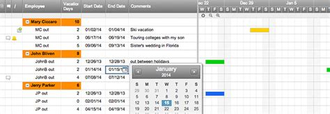team vacation planner template smartsheet
