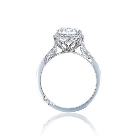 Round brilliant center diamond engagement ring   DK Gems