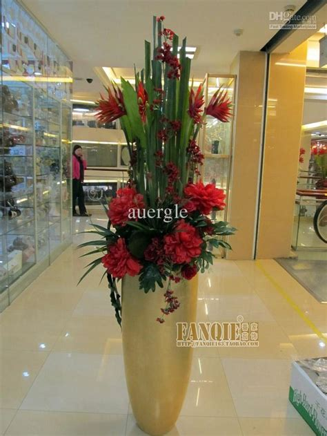 Big Vase Decoration by Large Floor Vase Set Modern Fashion Decoration Set