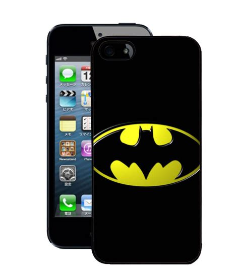 Batman W3736 Iphone 5 5s Se Casing Premium Hardcase fuson 2d fancy print designer premium back cover for apple iphone 5 5s batman d343 buy