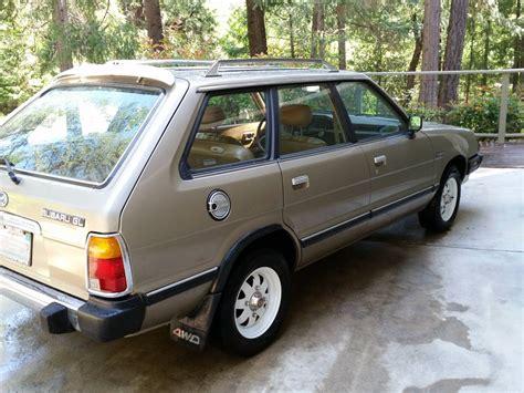 4wd Subaru by Kidney Anyone Beautiful 1981 Subaru Gl 4wd Wagon