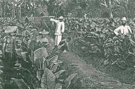 pembelajaran sejarah indonesia sistem tanam paksa dan daknya