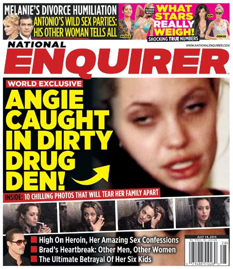 Gossip From National Enquirer by Image Gallery National Enquirer Logo