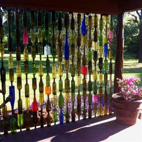 decoracion de botellas de vidrio vacias decorar jardines botellas 3 2015 botellas botellas