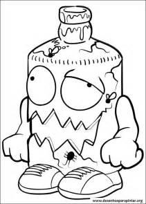 trash pack desenhos imprimir colorir pintar 187 desenhos pintar colorir