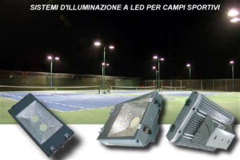 illuminazione ci sportivi lade a led per illuminazione di ci sportivi