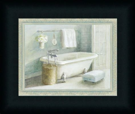 bathroom framed prints refreshing bath ii danhui nai traditional bathroom spa