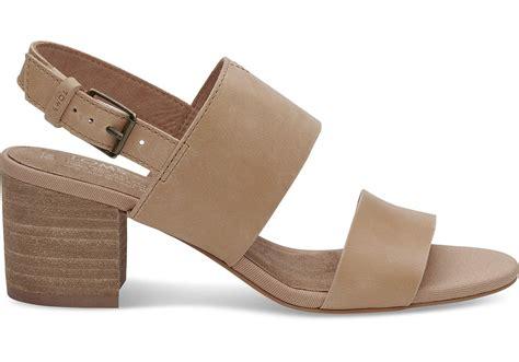 Sandal Poppy honey leather s poppy sandals toms 174