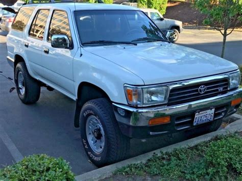 how petrol cars work 1993 toyota 4runner interior lighting 1993 toyota 4 runner sr5 v6 automatic 4x4 87k original miles showroom condition for sale