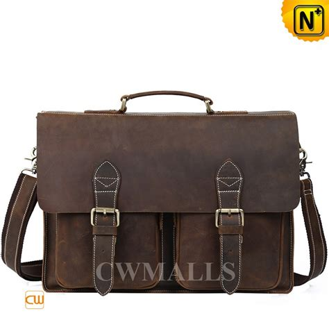 cwmalls 174 vintage leather messenger bag cw915731