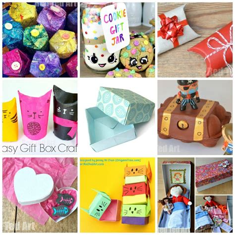 kid craft gifts 15 gift box ideas for to make and enjoy