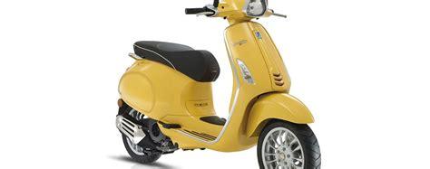 125ccm Motorrad Unterhaltungskosten by Modellnews Vespa Primavera Und Sprint 125 Euro 4 Schweiz