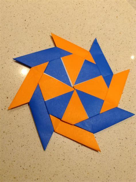 Paper Shuriken Origami - shuriken paper origami comot