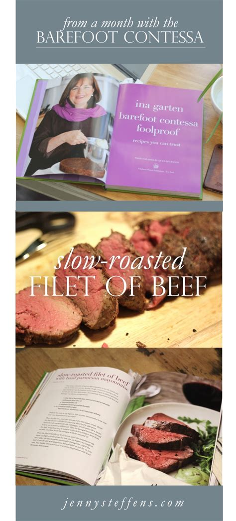 barefoot contessa cookbook recipe index jenny steffens hobick slow roasted beef tenderloin the