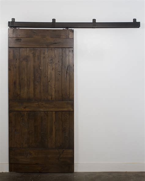 ranch barn door rustica hardware