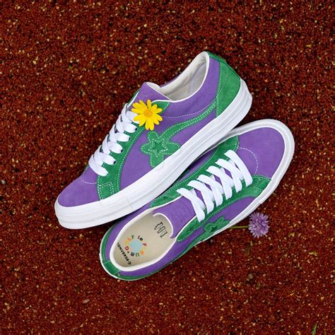 Sneakers Converse One X Golf Le Fleur Green Bnib converse one golf le fleur collection sneaker bar detroit