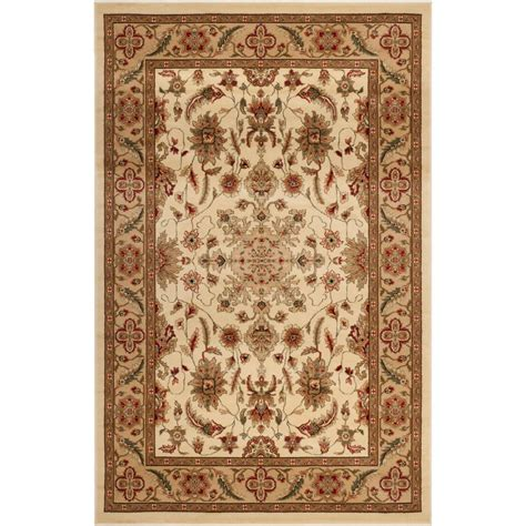 11 X 12 Area Rug Safavieh Lyndhurst Ivory 8 Ft 11 In X 12 Ft Area Rug Lnh211a 9 The Home Depot