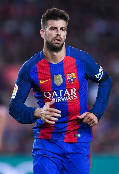 gerard pique gerard pique photos photos fc barcelona v club atletico