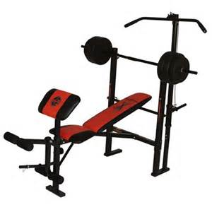 marcy bench press set marcy competitor wm203 barbell bench sweatband