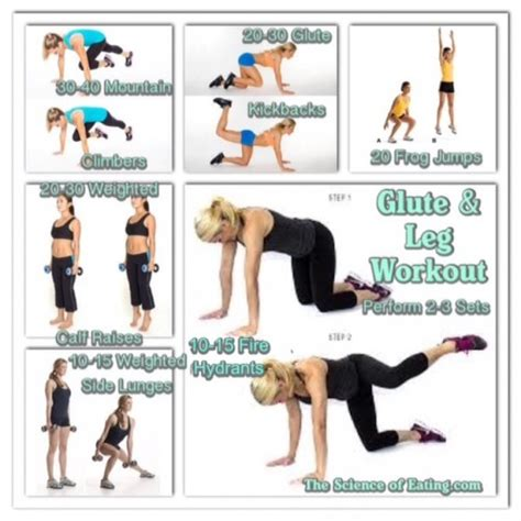 leg glute workouts