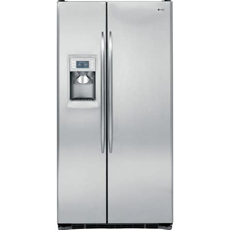 Ge Profile Refrigerator Cabinet Depth by Ge Profile 24 6 Cu Ft Side By Side Refrigerator In
