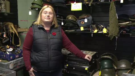 army surplus store barrie store keeps memories of service alive ctv news