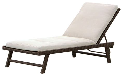 Chaise Lounge For Outdoors florida adjustable chaise lounge with cushion contemporary outdoor chaise lounges by great