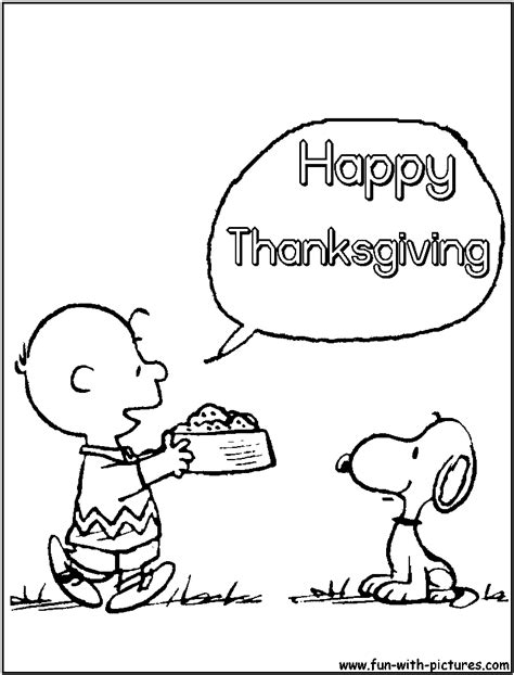 snoopy coloring pages for thanksgiving peanuts thanksgiving coloring page