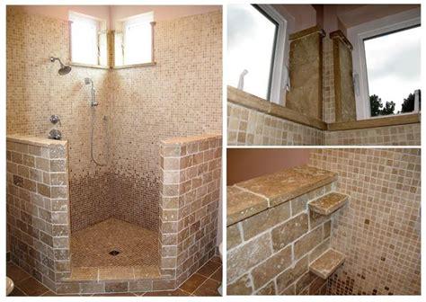 open shower designs small open shower bathroom design for the home pinterest