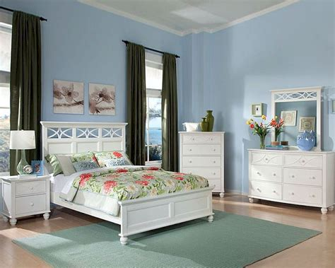 homelegance bedroom set homelegance bedroom set sanibel in white el2119wset