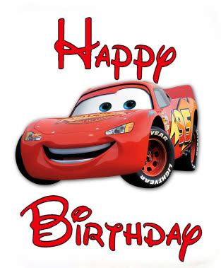 free printable birthday cards lightning mcqueen happy birthday wishes with cars