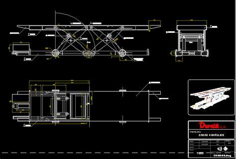 hydraulic car dwg block  autocad designs cad