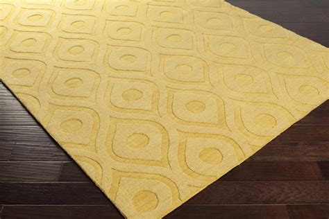 yellow accent rug yellow area rug kaleen rugs glam gla06 28 yellow area