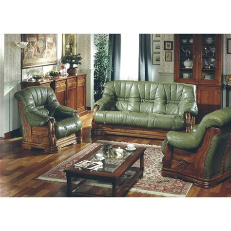 Green Living Room Sets Marvelous Green Living Room Set Pavese Italian Leather Sofa Set In Green Color Sl Interior Design