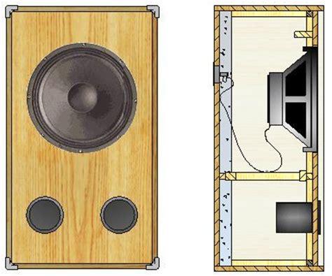 Designing Speaker Cabinets by Designing Buiding A Bass Guitar Loudspeaker Cabinet