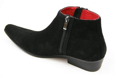 Chelsea Bs Wristbands madcap thunderbolt mod chisel toe chelsea boots black