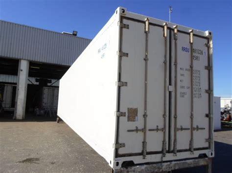 d馭inition chambre froide conteneur container contenair maritime et stockage 40