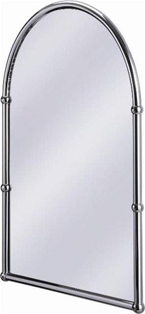burlington arched mirror traditional bathroom mirrors